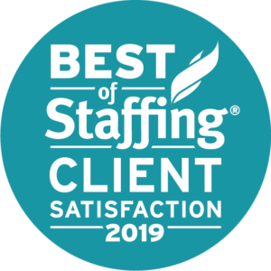 Essential Pros Staffing Franchise satisfaction award logo